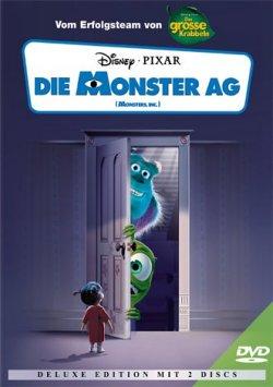 disney dvd spielfilme die monster ag monsters inc. Black Bedroom Furniture Sets. Home Design Ideas